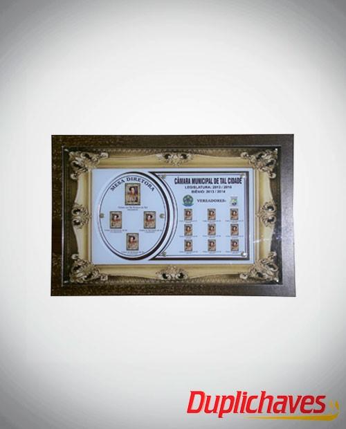 Placa da Câmara de Vereadores